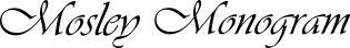 Mosley Monogram
